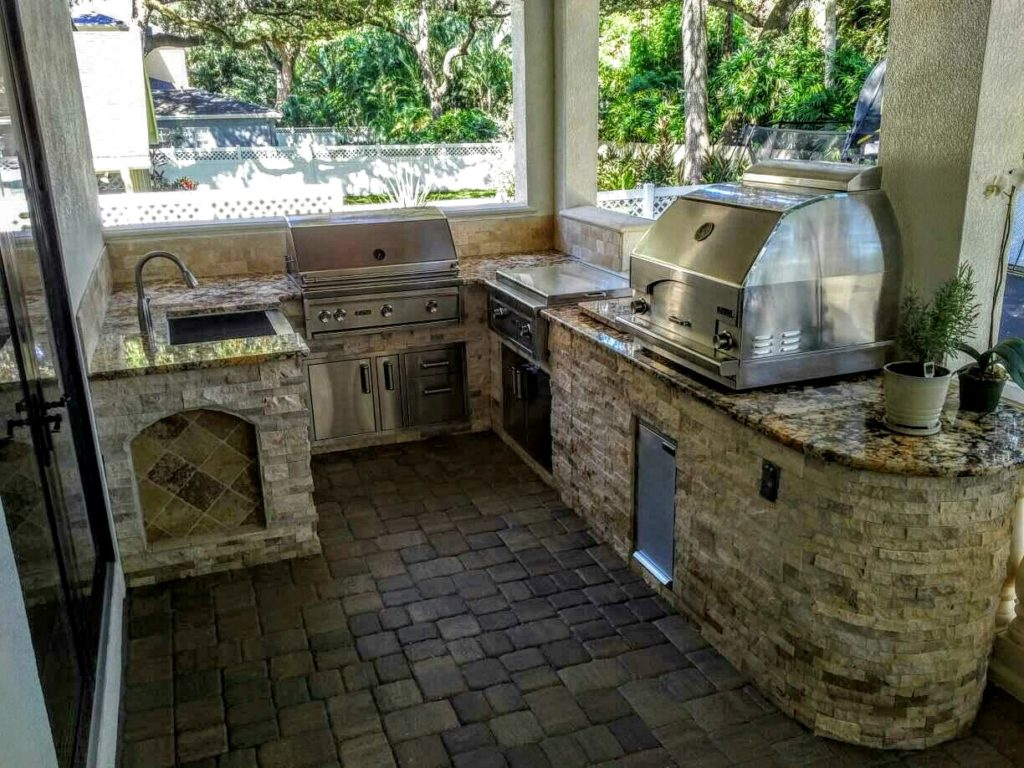 outdoor kitchen images photo - 7