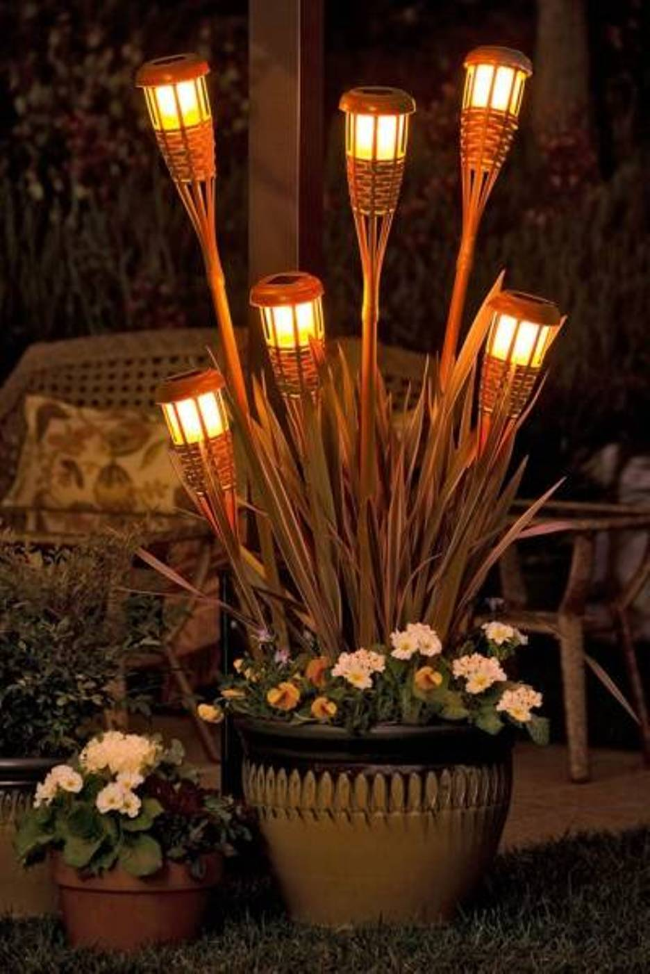 outdoor party lights ideas photo - 3