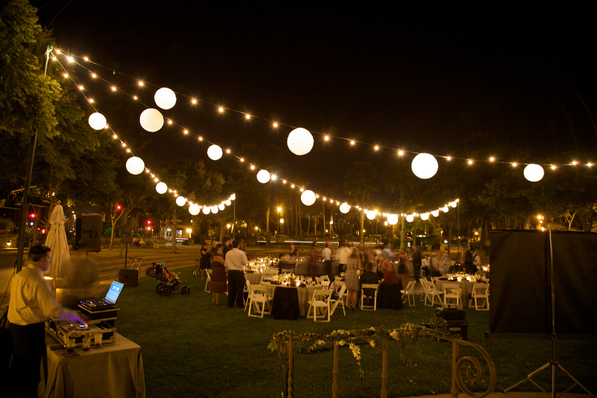 outdoor party lights ideas photo - 4