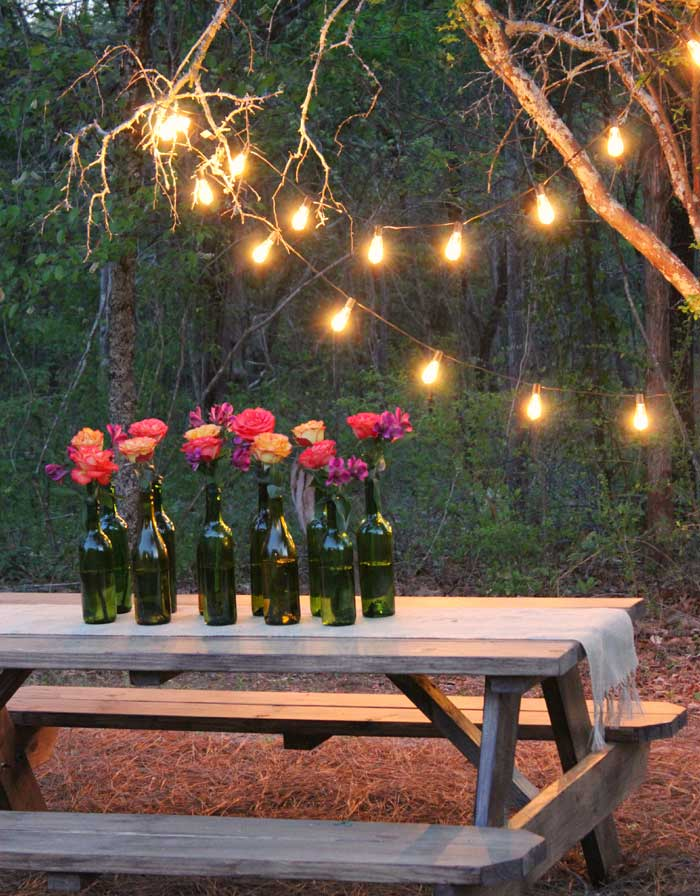 outdoor party lights ideas photo - 6