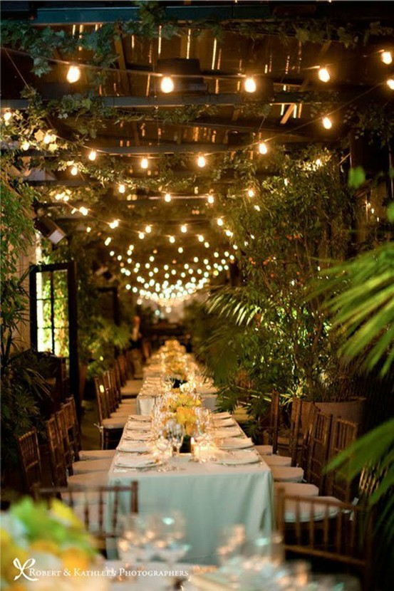 outdoor party lights ideas photo - 8