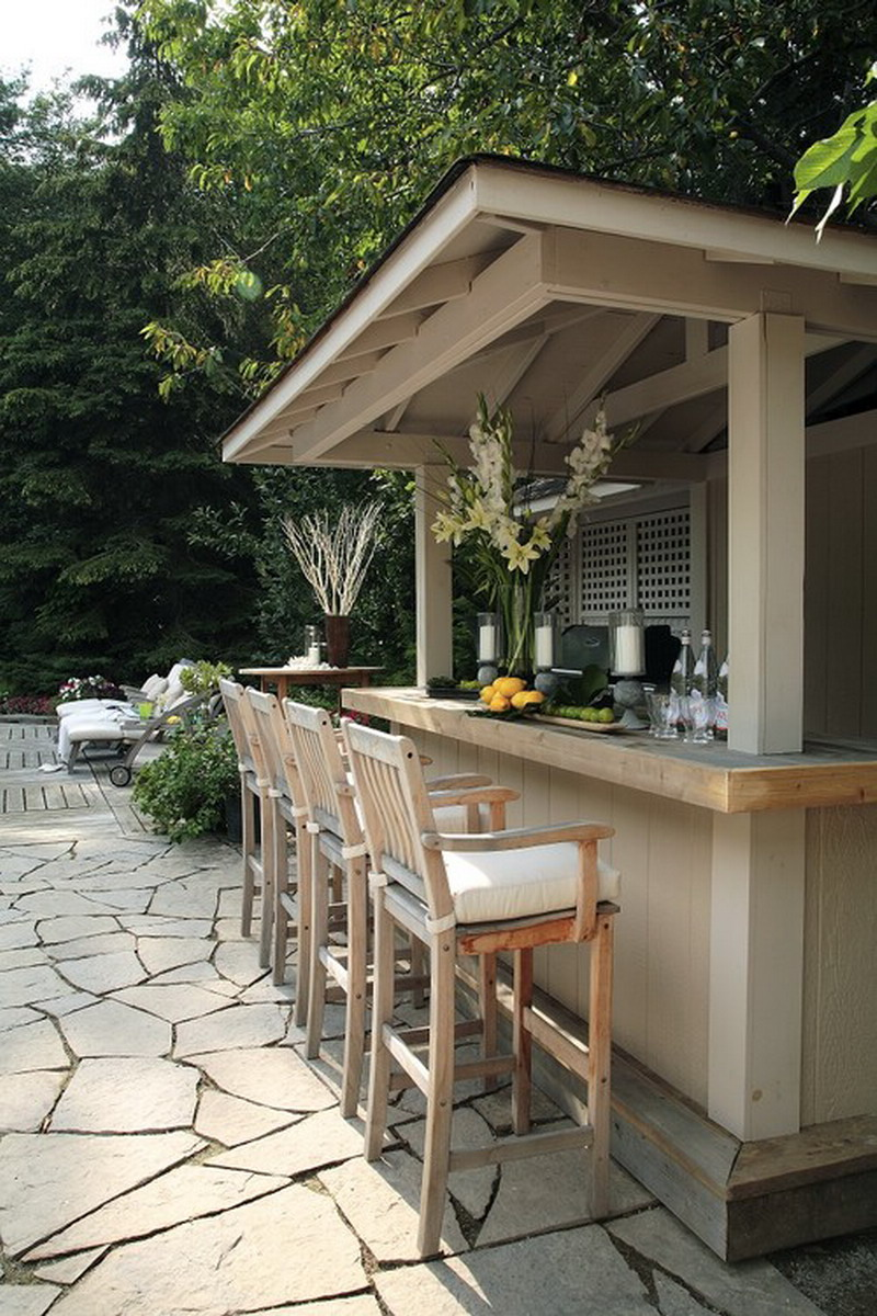 outdoor patio bar designs photo - 2