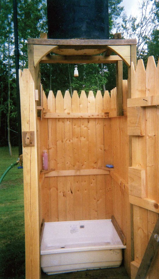 outdoor shower diy photo - 3
