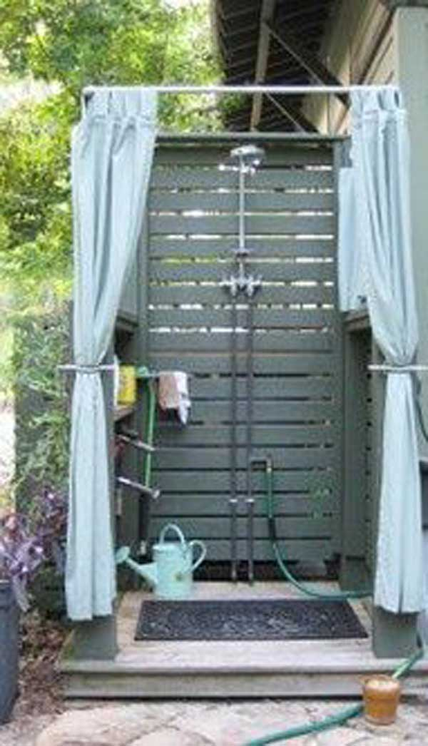 outdoor shower diy photo - 5