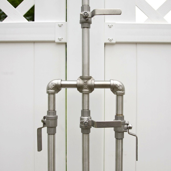 outdoor shower fixtures photo - 4
