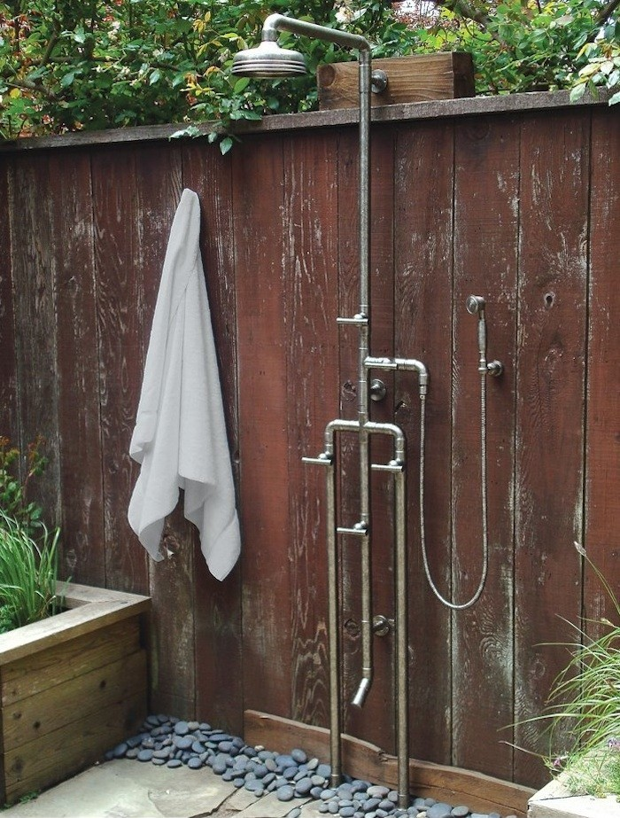 outdoor shower fixtures photo - 6