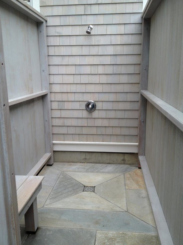 outdoor shower floors photo - 5