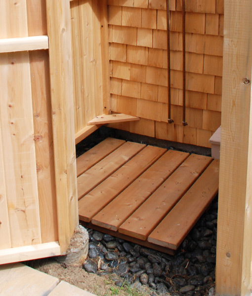 outdoor shower floors photo - 7