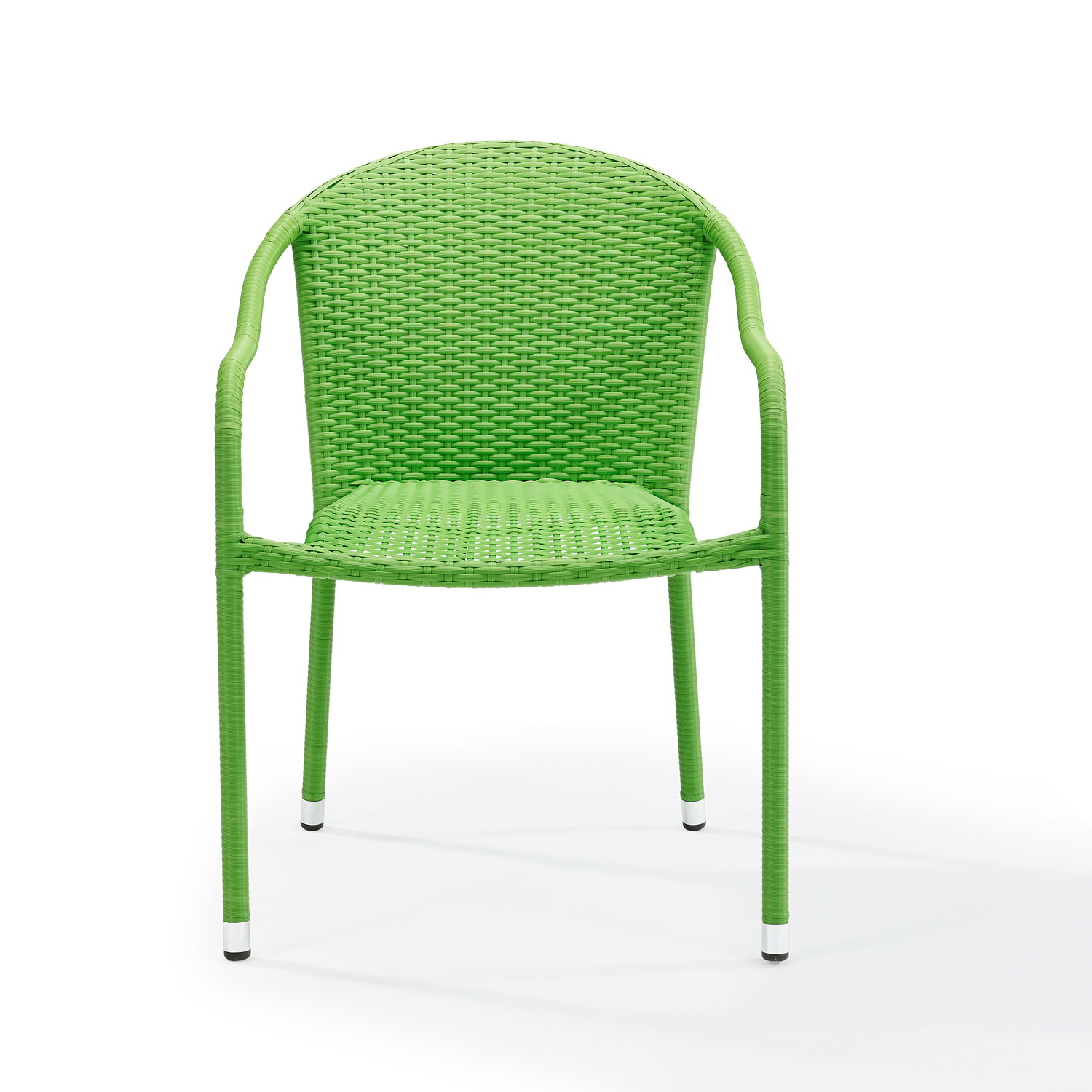 outdoor wicker furniture green photo - 3