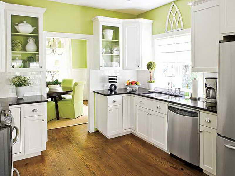 paint kitchen cabinets ideas what color photo - 3