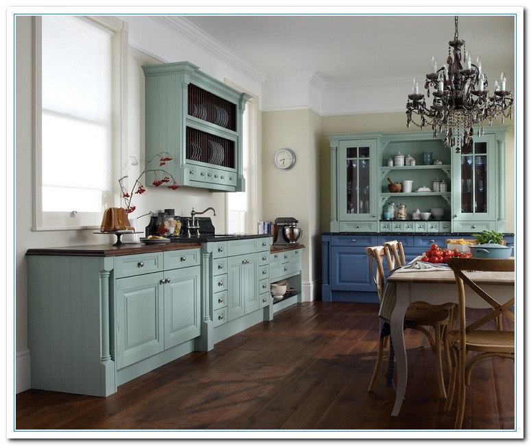 paint kitchen cabinets ideas what color photo - 4