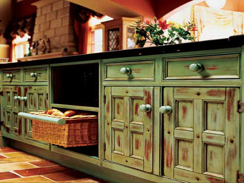 painting old kitchen cabinets ideas photo - 3