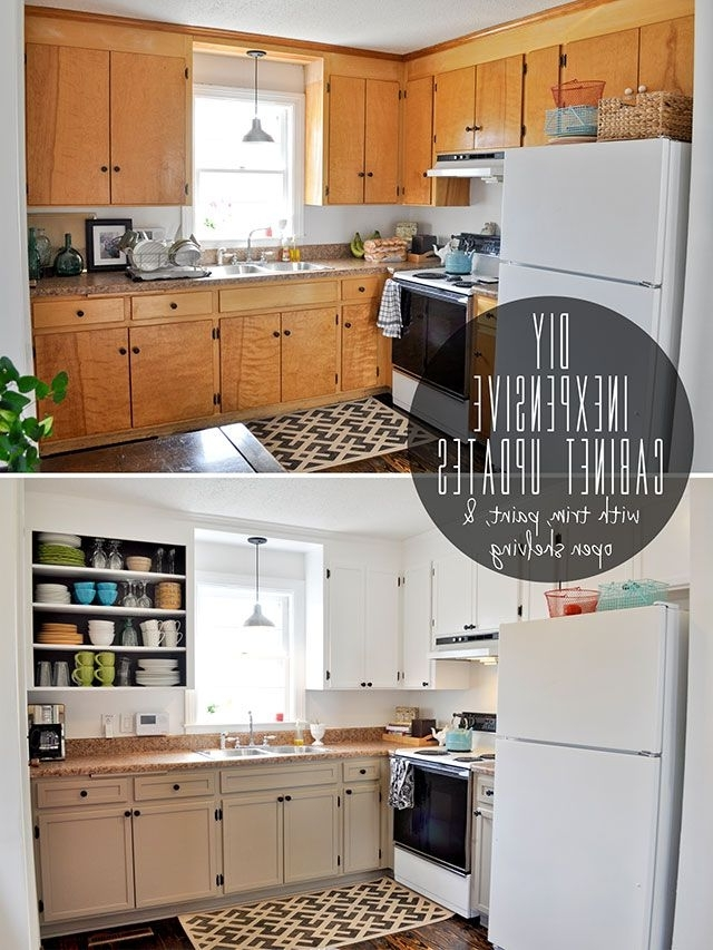 painting old kitchen cabinets ideas photo - 9