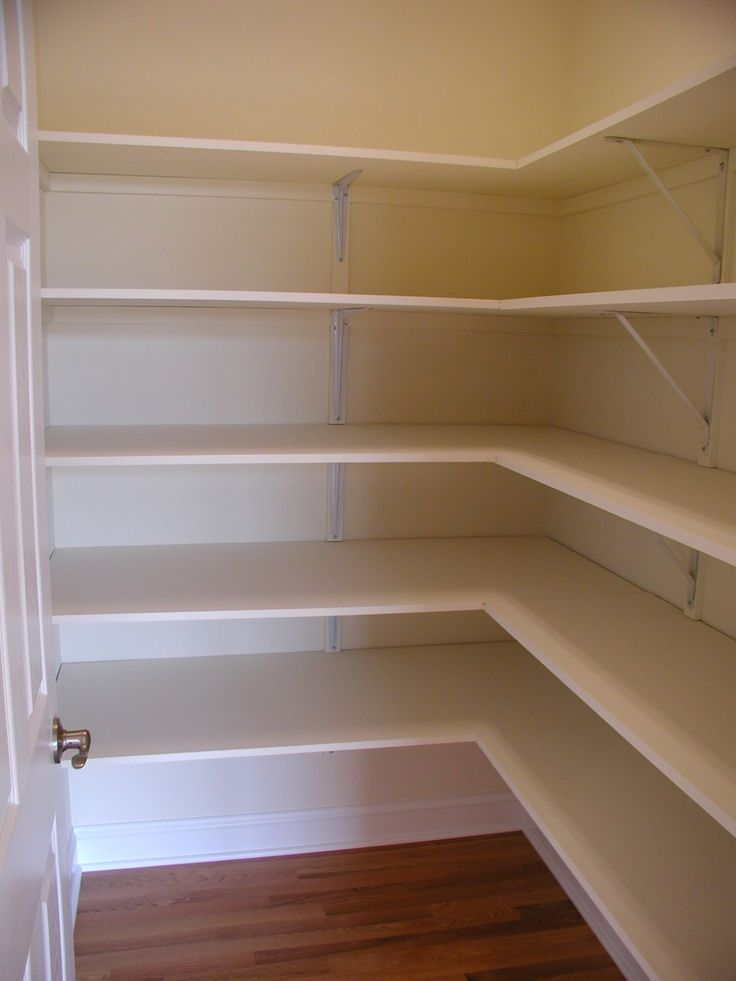 pantry shelving systems wood photo - 3