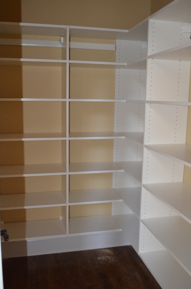 pantry shelving systems wood photo - 9