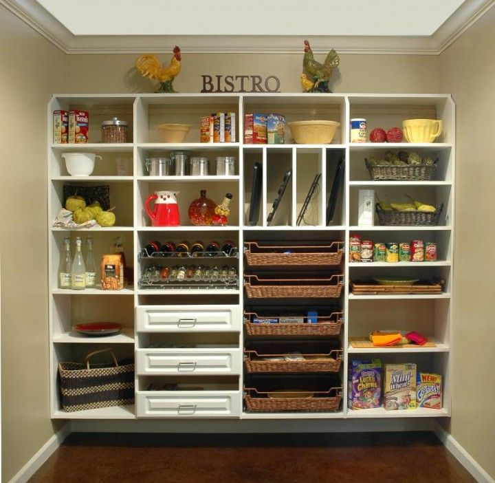 pantry storage systems photo - 1
