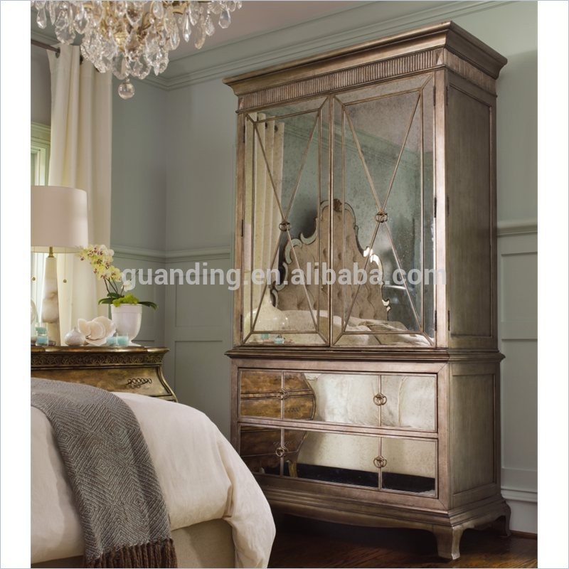 parisian mirrored bedroom furniture photo - 8