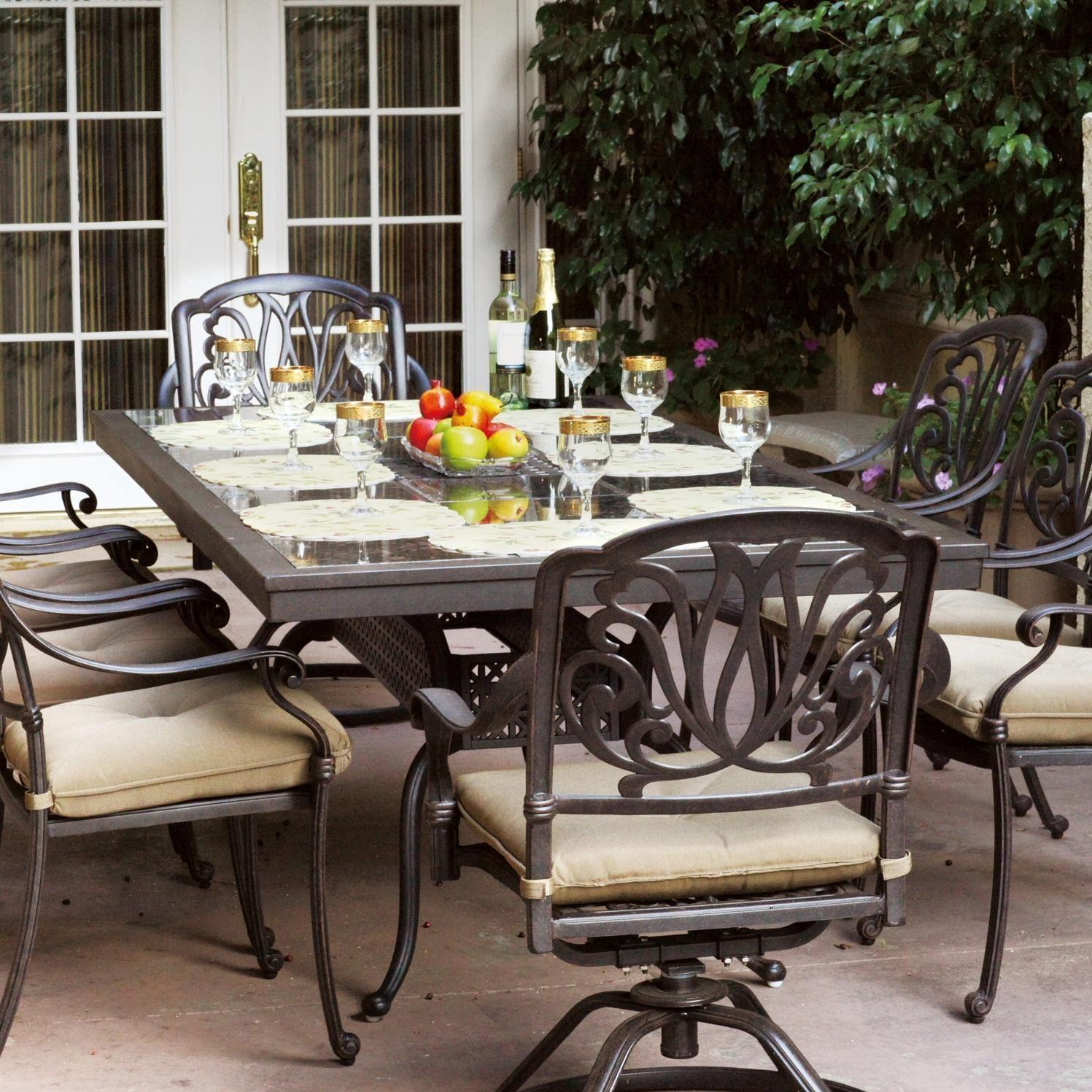 patio dining sets for 8 photo - 4