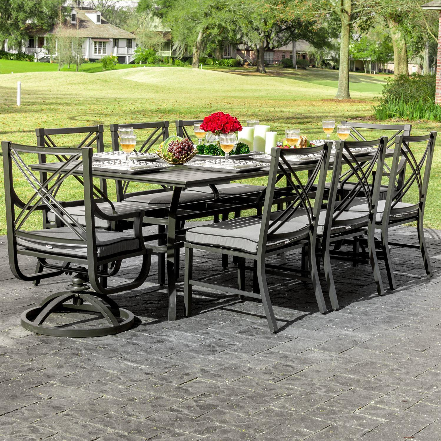 patio dining sets for 8 photo - 5