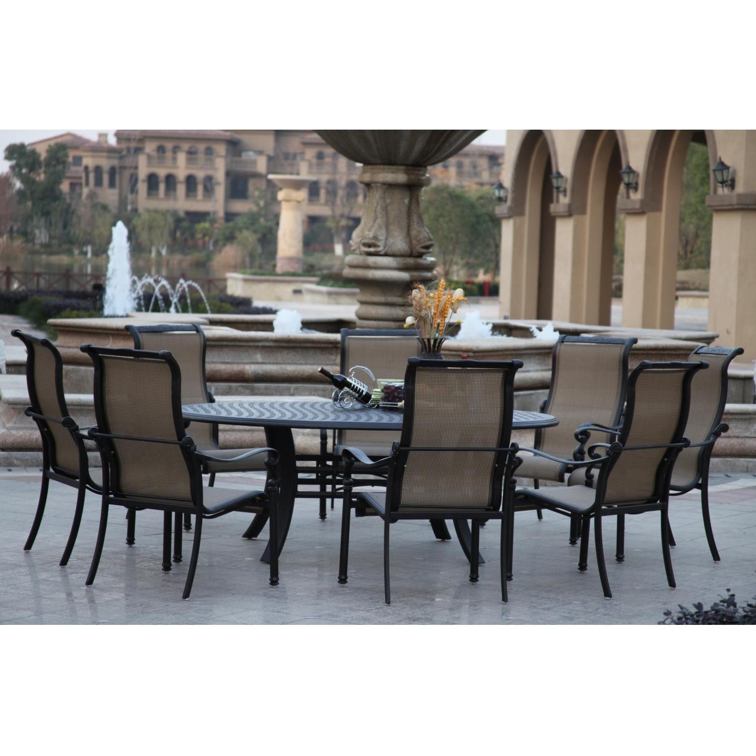 patio dining sets for 8 photo - 7