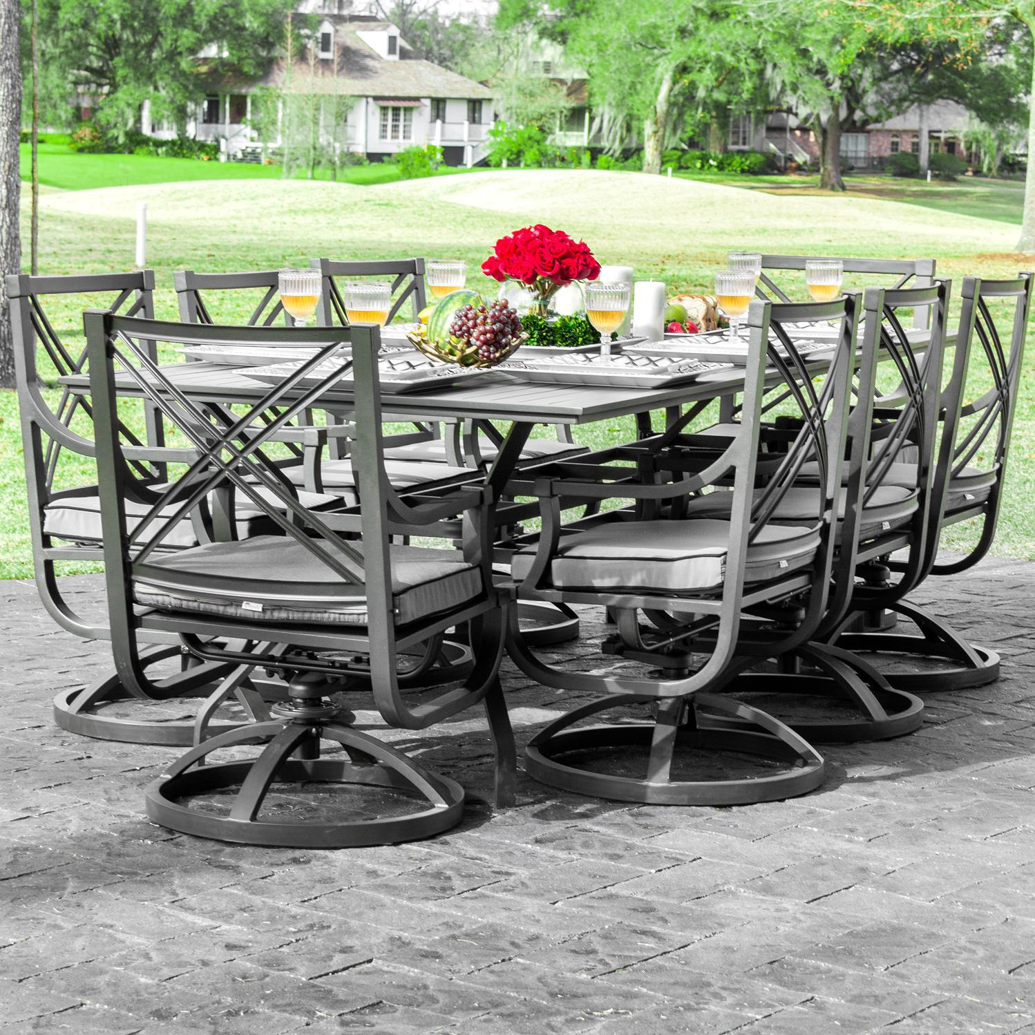 patio dining sets for 8 people photo - 4