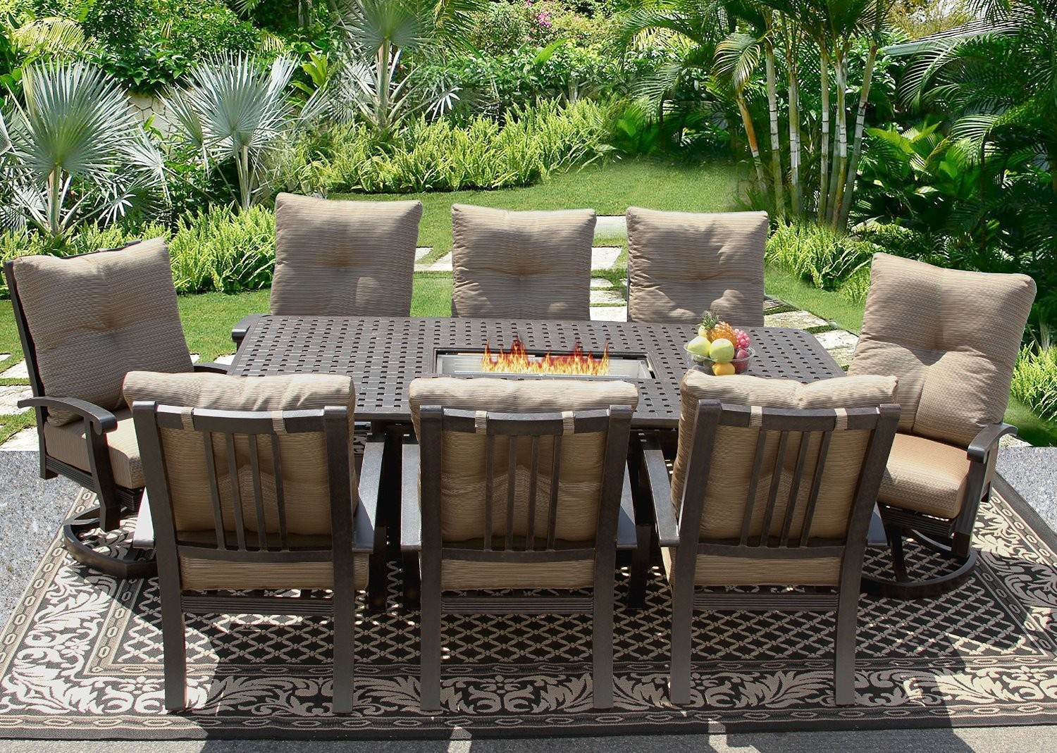 patio dining sets for 8 people photo - 5