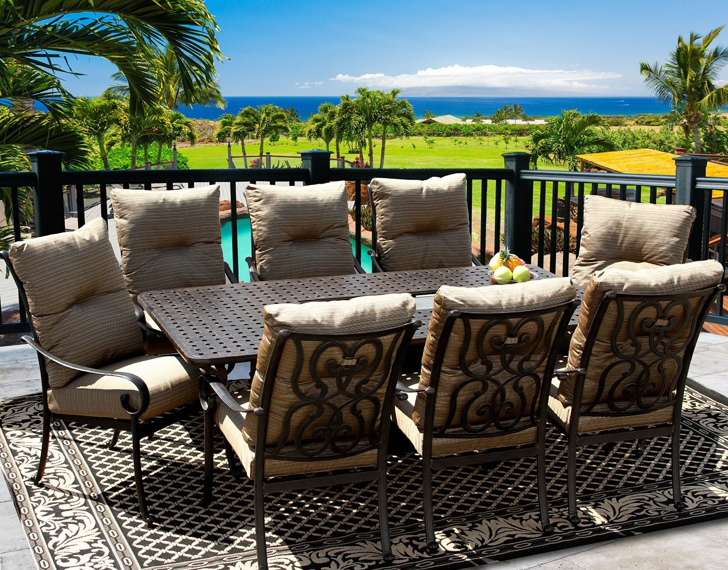 patio dining sets for 8 people photo - 6