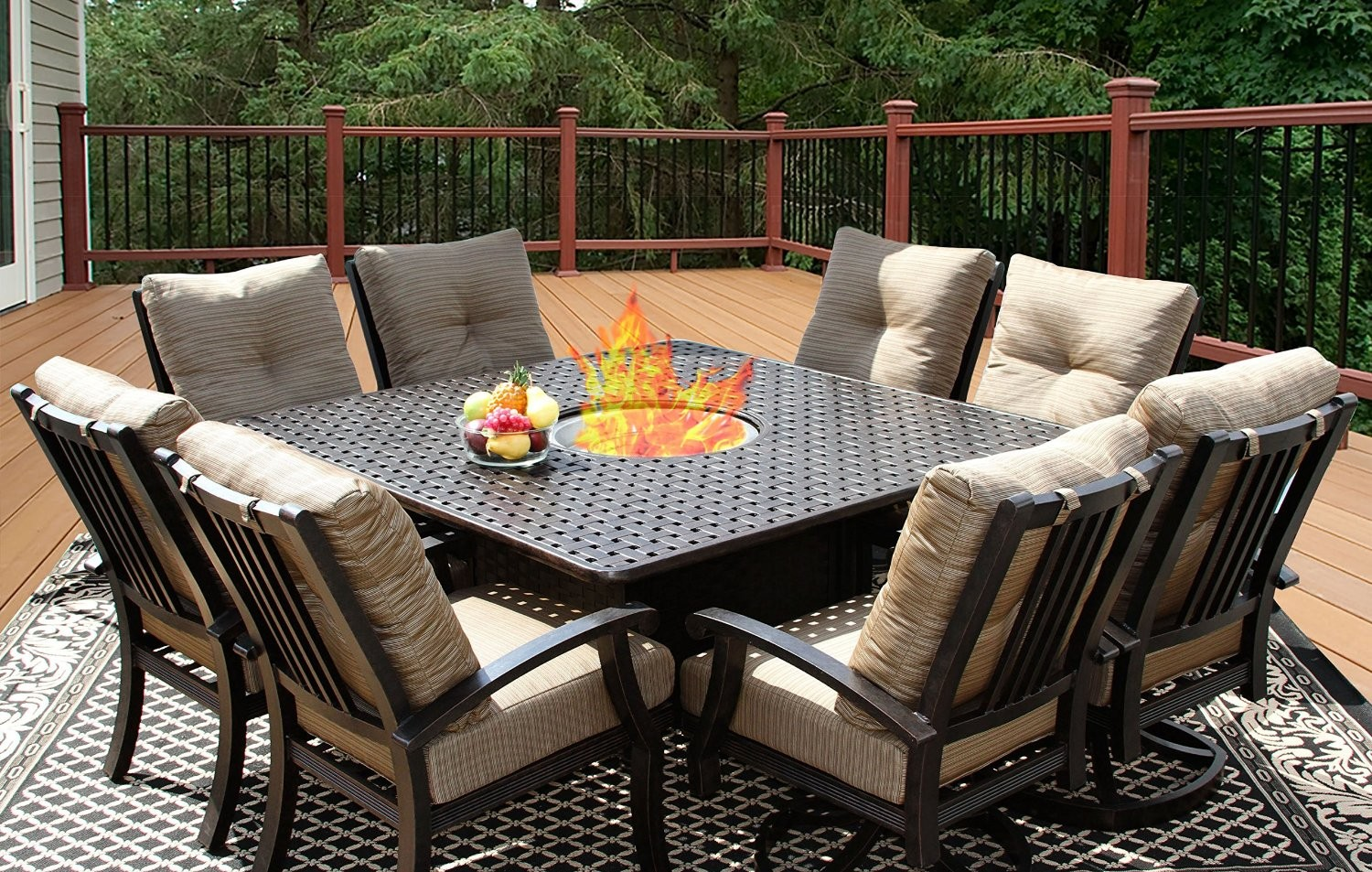 patio dining sets for 8 people photo - 8