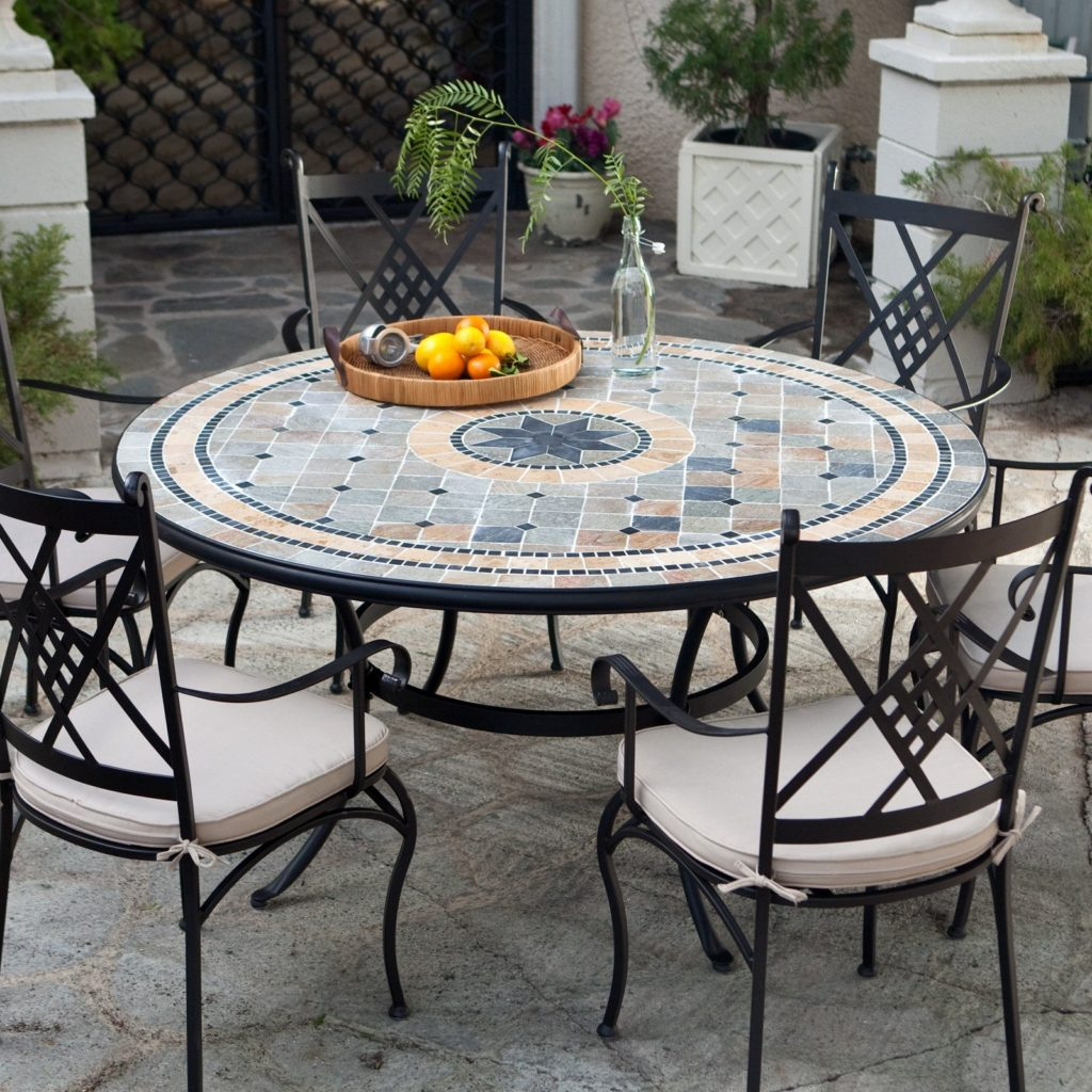 patio dining sets seats 6 photo - 1