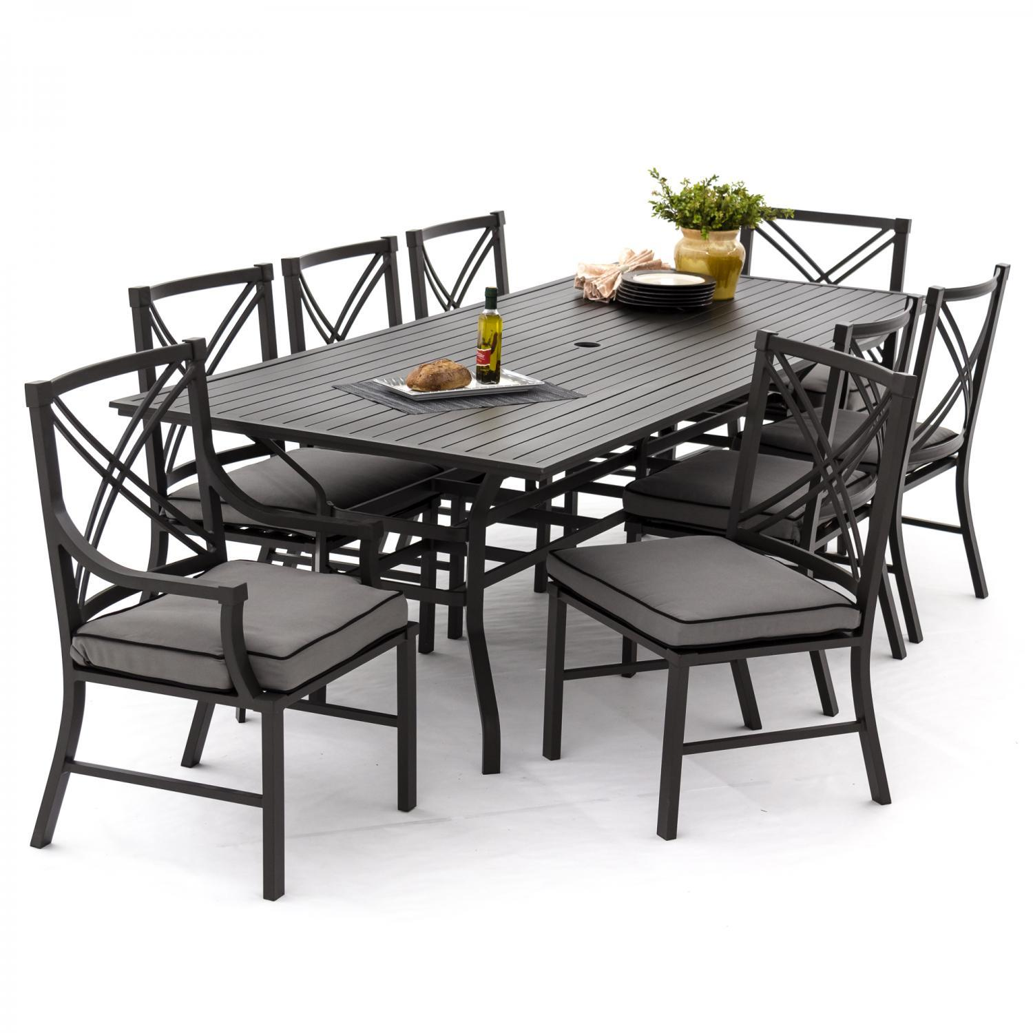 patio dining sets seats 6 photo - 10