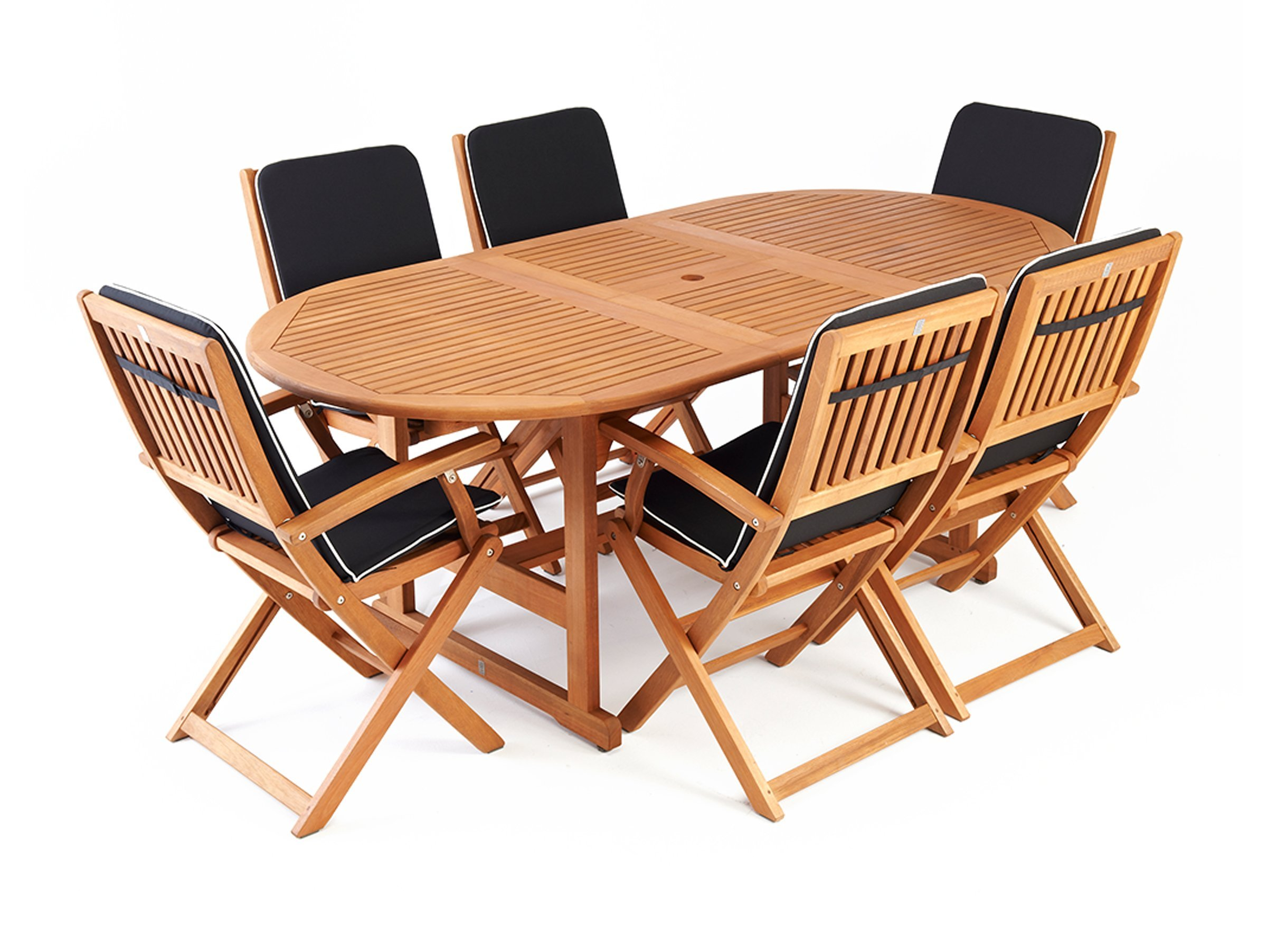 patio dining sets seats 6 photo - 5