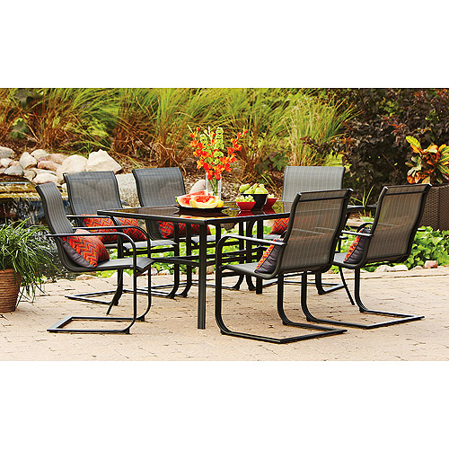 patio dining sets seats 6 photo - 7