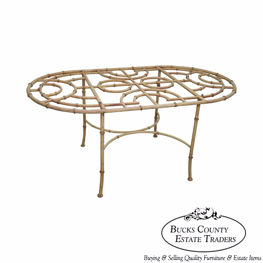 patio dining table bases photo - 5