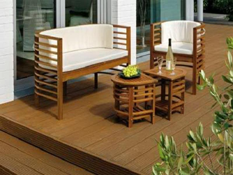 patio furniture for small spaces photo - 1