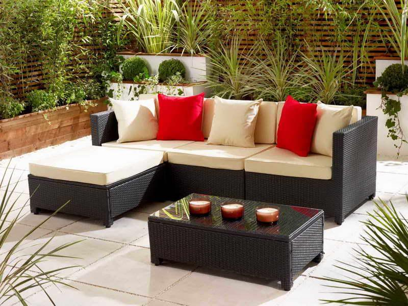patio furniture for small spaces photo - 2