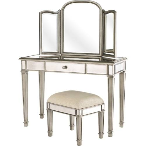 pier 1 mirrored bedroom furniture photo - 10