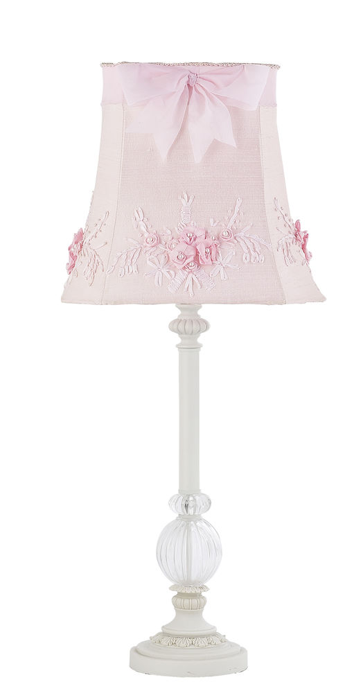 pink bedroom lamp photo - 1
