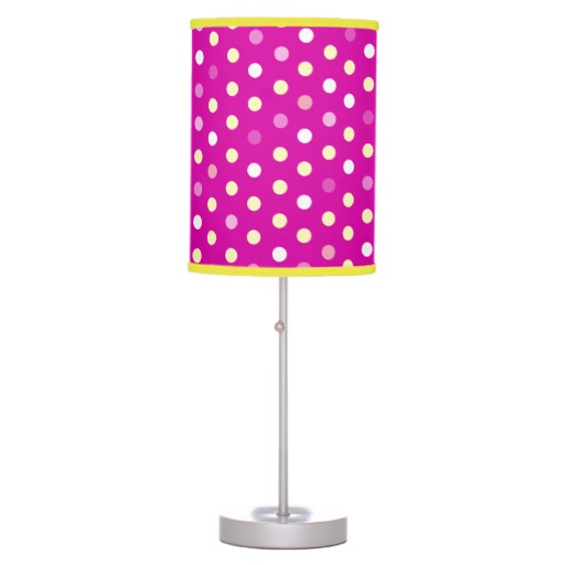 pink bedroom lamp photo - 2