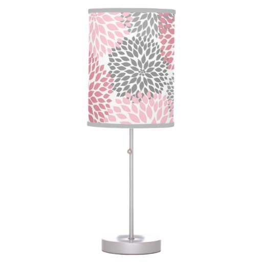 pink bedroom lamp photo - 7
