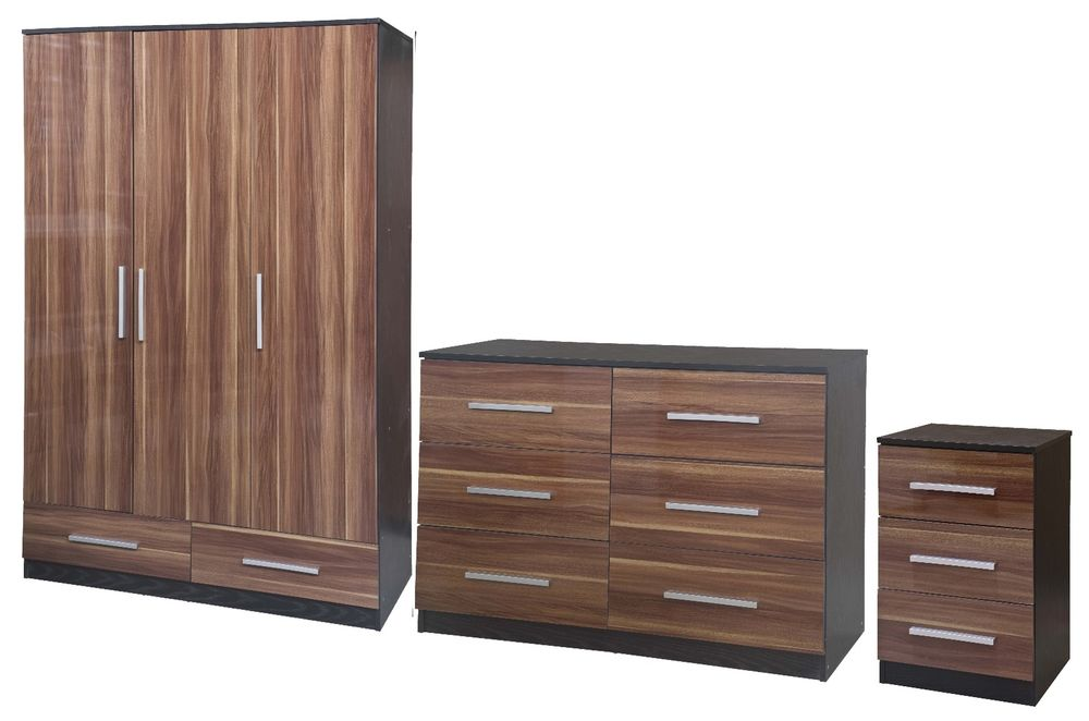 quality black bedroom furniture photo - 2