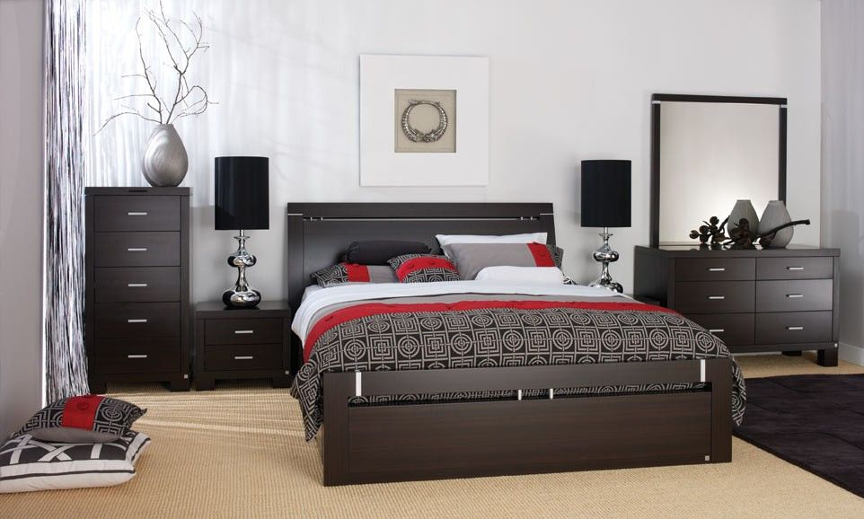 quality black bedroom furniture photo - 7