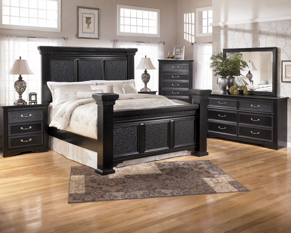 quality black bedroom furniture photo - 9