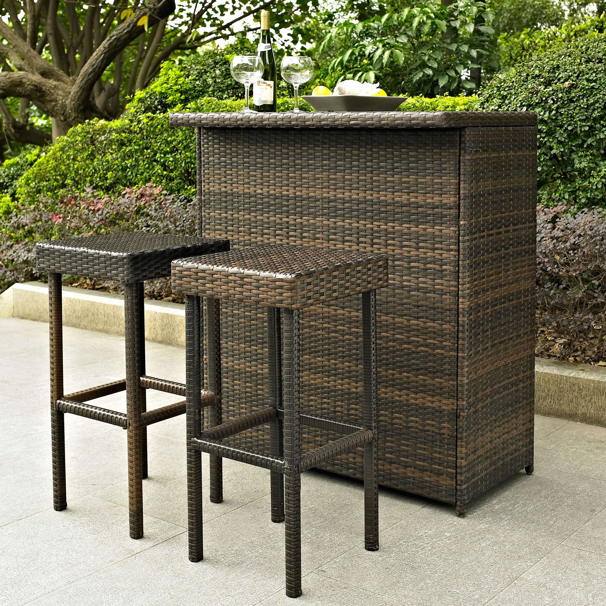 resin outdoor bar sets photo - 6