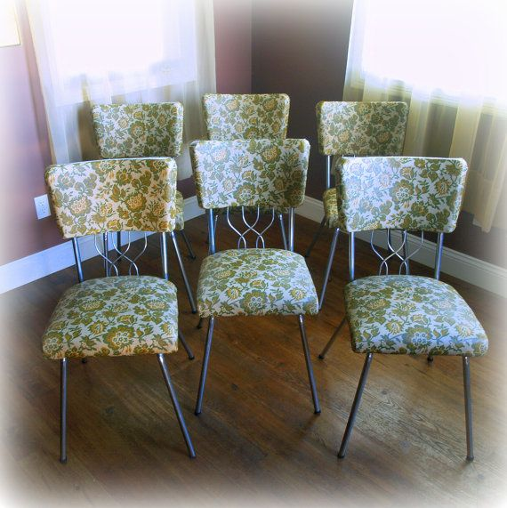 retro kitchen chair replacement seats photo - 10