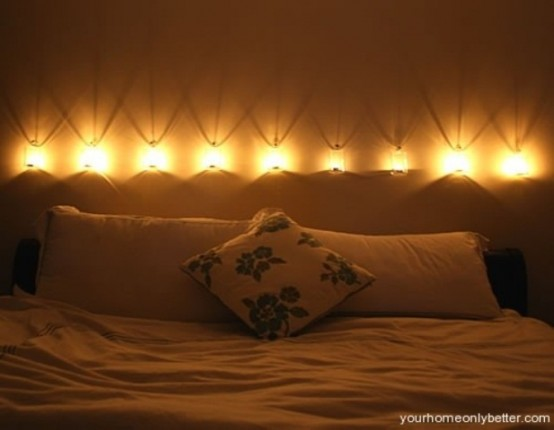 romantic bedroom lamp photo - 8