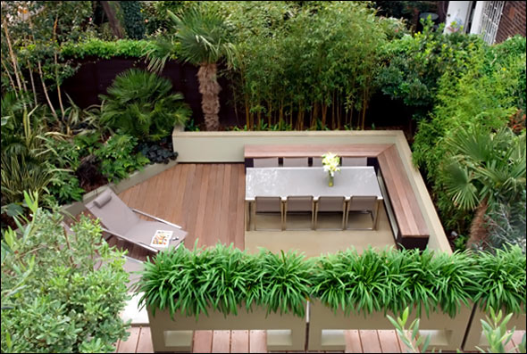 roof terrace garden design ideas photo - 2
