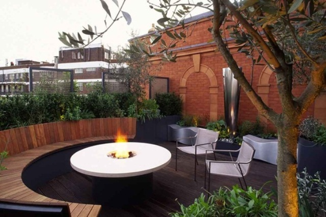 roof terrace garden design ideas photo - 3