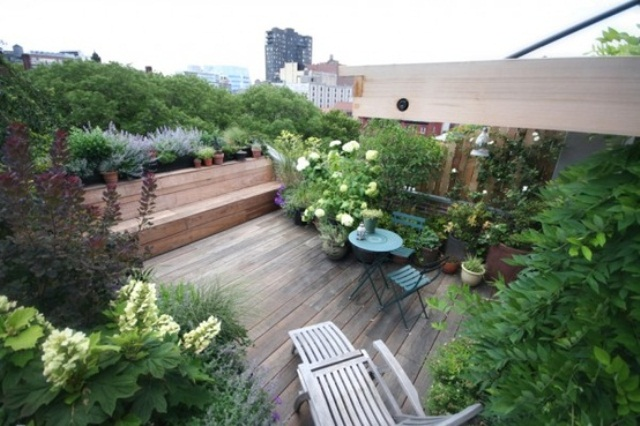roof terrace garden design ideas photo - 5