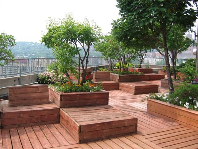 roof terrace garden design ideas photo - 7