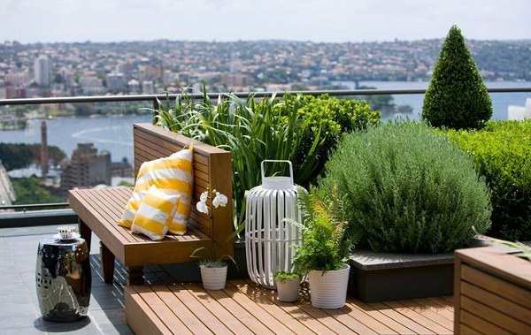 roof terrace garden design ideas photo - 8
